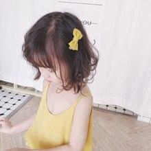 Cloth Bows Hair pins Hair Barrettes Children Accessories Cute Baby Girls Headwear Sweet Bowknots Kids Hair Clip цена