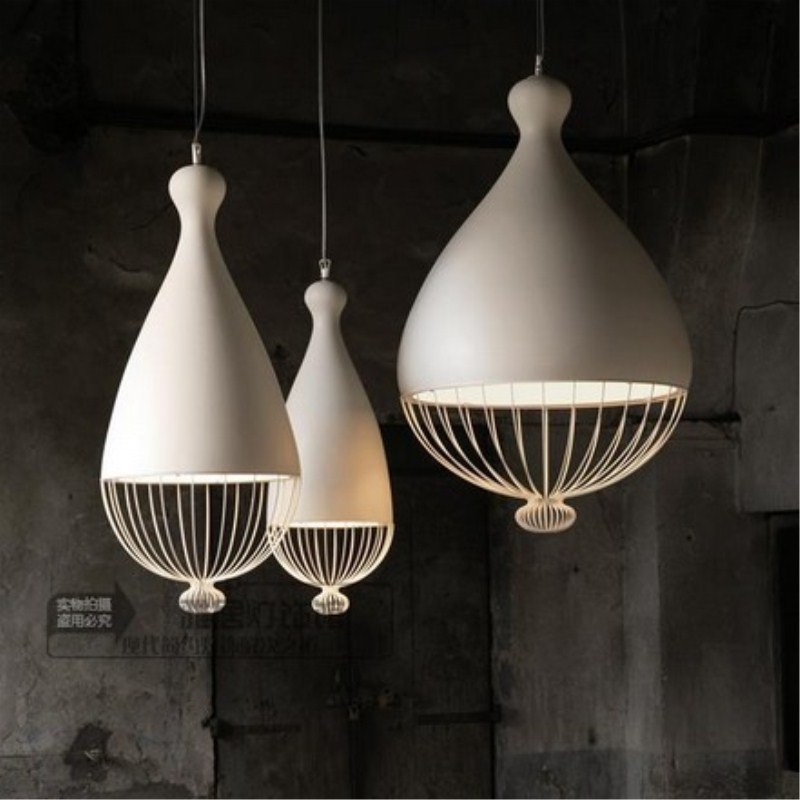 все цены на Northern Europe Modern Concise Fashion Noble Iron Pendant Lamp Cafe Bar Restaurant Bedroom Parlor Decoration Lamp Free Shipping