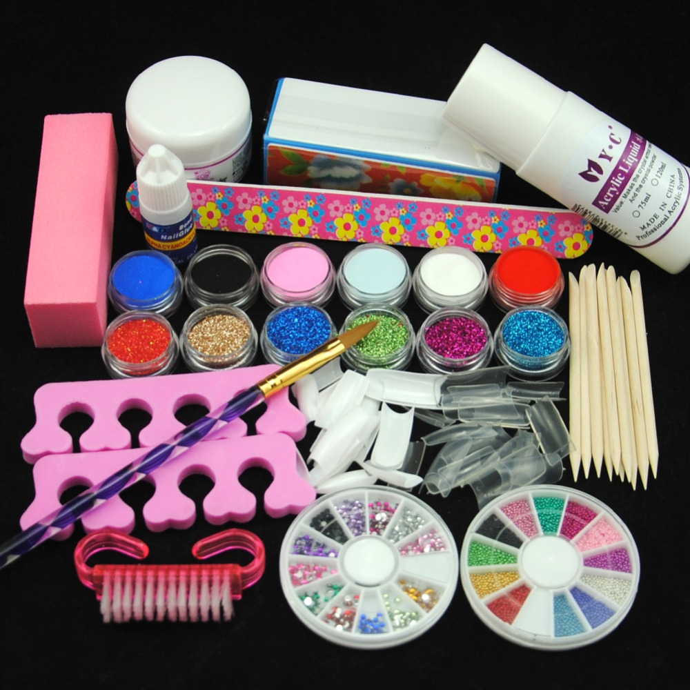 Online Buy Wholesale Acrylic Nail Kit From China Acrylic Nail Kit Wholesalers Aliexpress Com