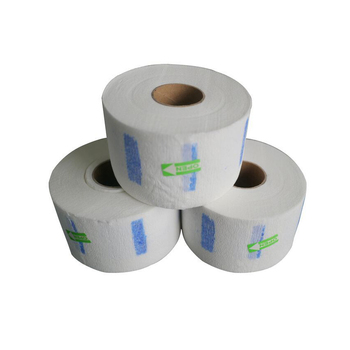 100 piece/per Small Roll Hair Salon Neck Paper Barber Hair Cut Anti-Dust Paper For Protecting Neck 1 Small Roll In Low Price
