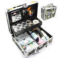 Send From Russian Super False Eye Eyelash Extension Glue Tools Full Kit Set Fashion Suitcase Box  Eye Pad Patch