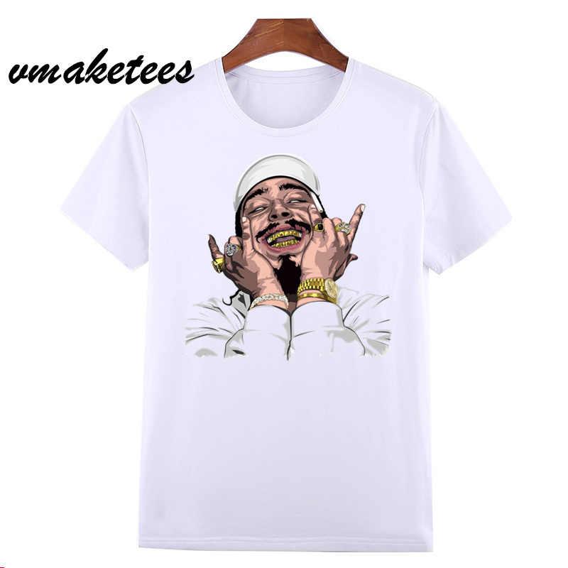 Hip Hop Rapper Bài Malone T Áo Sơ Mi Thời Trang Mùa Hè Ngắn Tay Áo T Áo Sơ Mi Nam Quần Áo Nam T-Shirt In Người Đàn Ông Quần Áo HCP4540