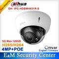 Dahua Original 4MP IPC-HDBW4431R-S reemplazar IPC-HDBW4421R Cámara HD de Red IP cctv IR Domo IP CCTV Cámara POE DH-IPC-HDBW4431R-S