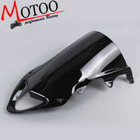 Motoo Windshield WindScreen Double Bubble For BMW S1000RR 2009 2014