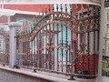 Wie Viel Eisen Fechten Material ICH Benötigen Durchschnitt Schmiedeeisen Zaun Kosten Kosten zu Reparatur eine Eisen Zaun Zäune  Gitter und Tore    -
