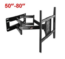 NB SP5 50″-80″ Flat Panel LED LCD TV Wall Mount Full Motion Heavy Duty Monitor Holder 6 Swing Arms