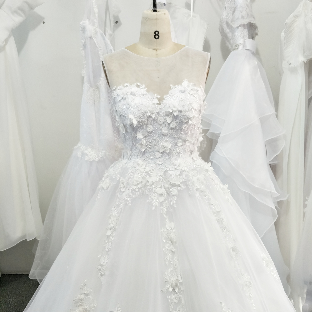 Vintage Wedding Dresses Greenwich: Vestidos De Noiva 2019 Bride Dress Vintage Ivory Princess