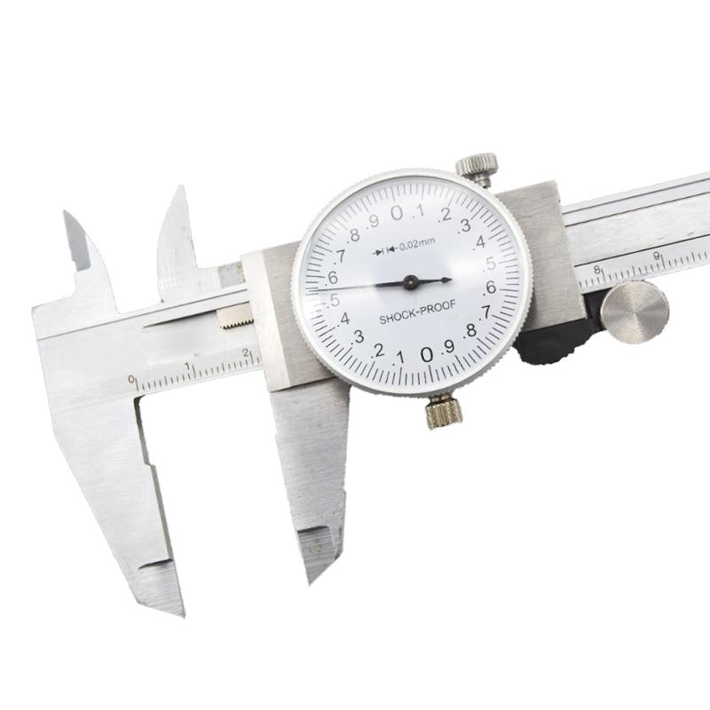 Shockproof  Measuring Tool Display Digital Electronic Vernier Caliper Micrometer 6-inch Stainless Steel 150mm LCD Metal Caliper