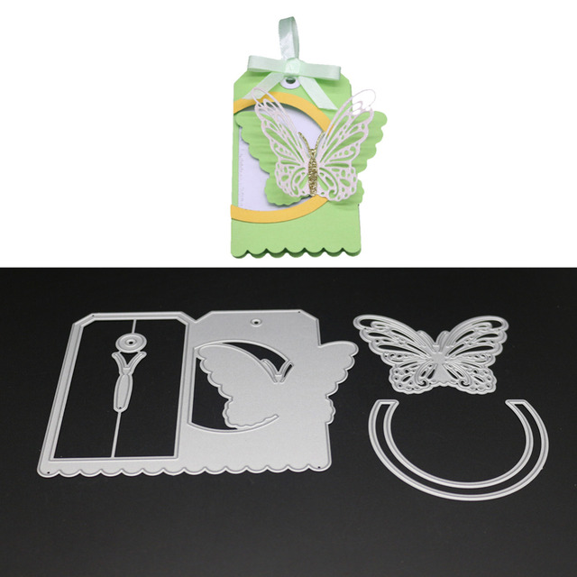Erfly Box Design Embossing Template Metal Cutting S Stencil