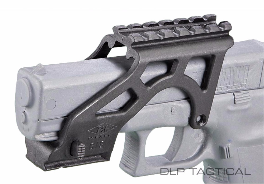 Tactical scope Mount Rail para Gen 3 y 4 Glock 17 19 20 21 22 23 34 ...