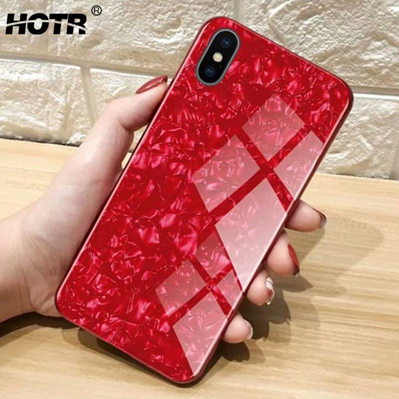 for iphone XS Max for iphone X Glass Case for iphone XR XS 5.8 6.1 6.5 Tempered Glass Back Case for Apple X 8 7 6 6s Plus Shell