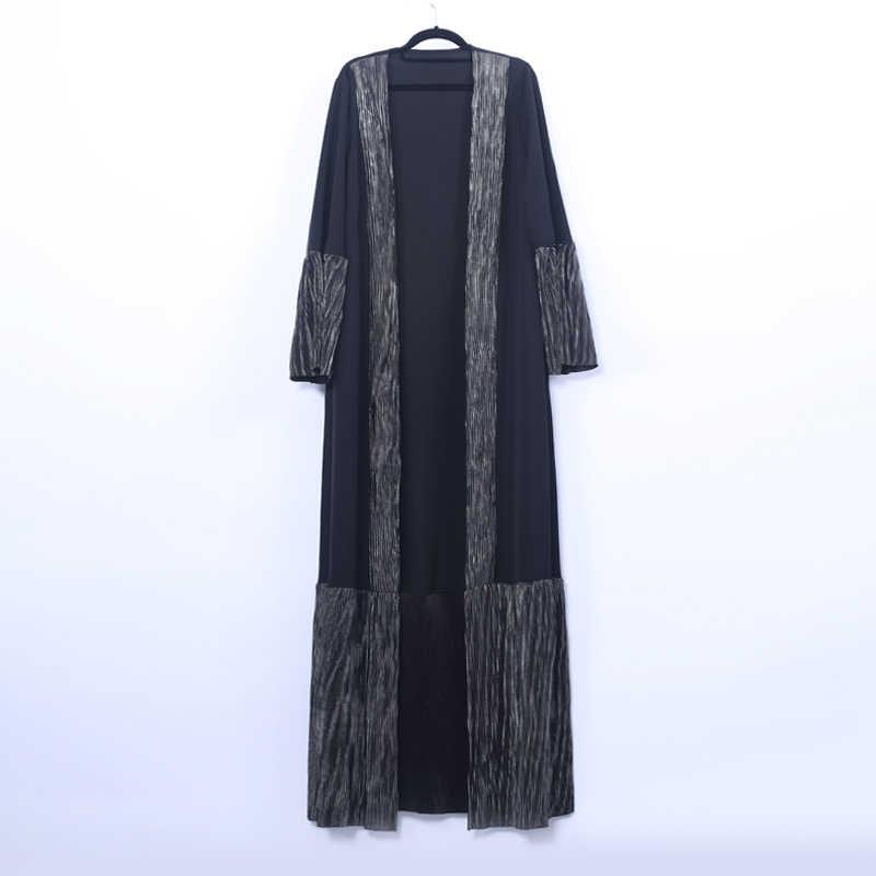 오픈 abaya 터키 기모노 두바이 이슬람 hijab 드레스 abayas kaftan 여성용 caftan 이슬람 의류 jilbab femme musulman cothes