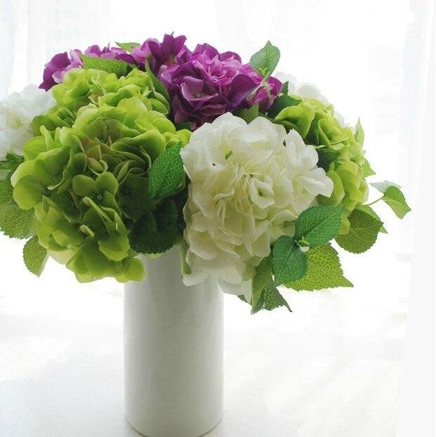 Faux Hortensien Kunstliche Blume Tische Center Blumengesteck