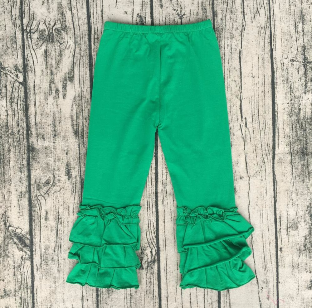 3544bf4398ab8 lovely children boutique triple sew sassy icing legging ruffle icing pants  multicolor triple ruffle Leggings Wholesale-in Pants from Mother & Kids on  ...