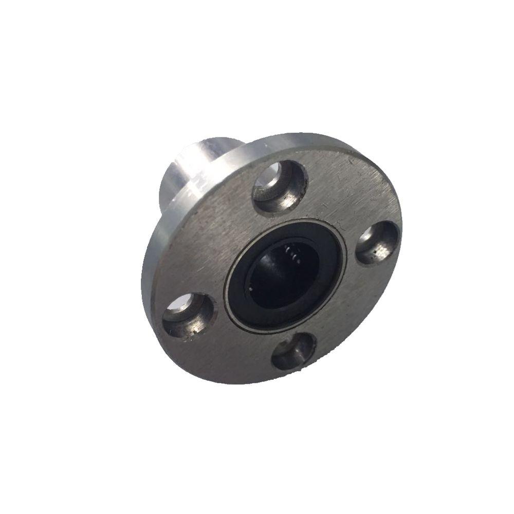 1Pcs LMF20UU Round Flange Linear Motion Bushing Ball Bearing For 20mm Shaft