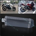 Fashion style 36mm Triangle Carbon fiber Color Motor Exhaust Muffler Stainless Steel Exhaust Pipe  modified motorcycle scooter