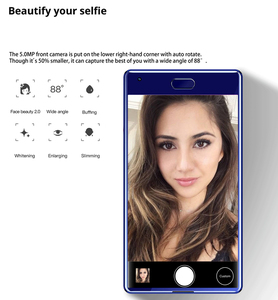 "Image 2 - 6GB RAM 64GB ROM 3000mAh SANTIN NEWDUN 16MP MTK P25 Octa Core 5.5"" Touch ID Dual Sim Android 7.0 FDD LTE 4G Smart Mobile Phone"