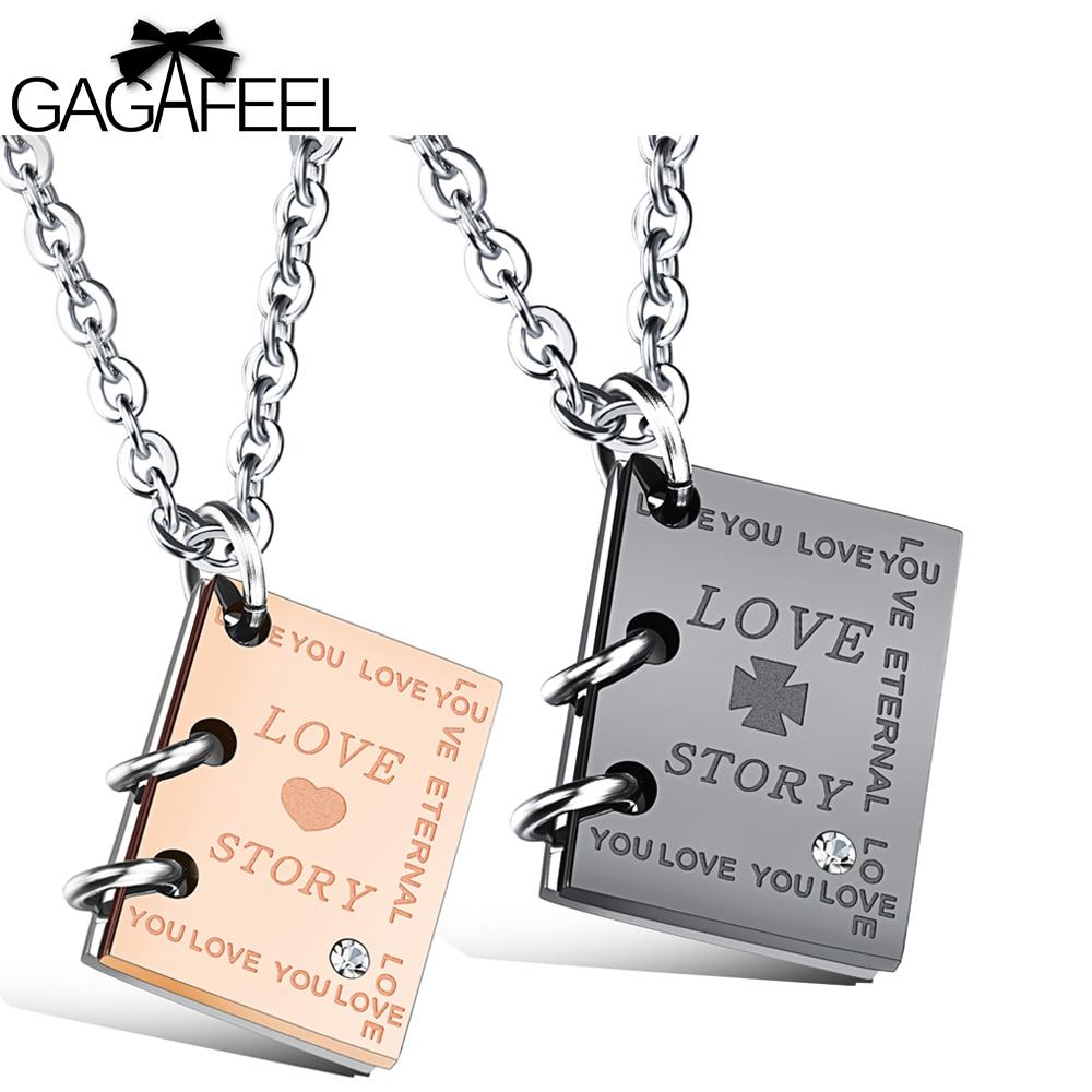 GAGAFEEL Necklace Women Men Pendants Necklaces Custom