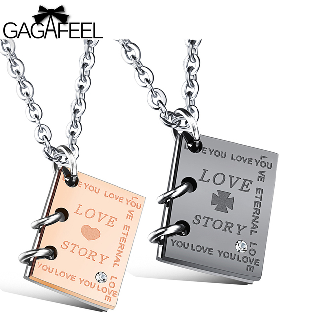 Gagafeel women men pendants necklaces custom engraved jewelry gagafeel women men pendants necklaces custom engraved jewelry necklace square pendant lovers story necklace valentines gifts aloadofball Choice Image