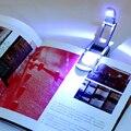 5 Шт. Поиск Черные Гибкие Складные LED Клип На Чтение Книги Свет лампа Для Чтения Kindle Робот Флип ПРИВЕЛО Настольная Книга Света