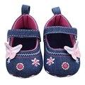 Sapatos de bebê Meninas Primeiro Walker Borboleta Suave Sole Criança Sapatos Prewalker Walker sapato chaussures de bebe fille bebe de menina