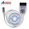Диагностический Кабель SMPS MPPS V13.02 CAN Flasher Чип-Тюнинг ЭКЮ Переназначить OBD2 Профессиональный Диагностический Инструмент для Автомобилей авто сканер Последняя