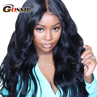 13x6 Lace Front Wig Human Hair 180 Density Body Wave Wig Brazilian Lace Wig Glueless Human Hair Wigs For Women Black Remy
