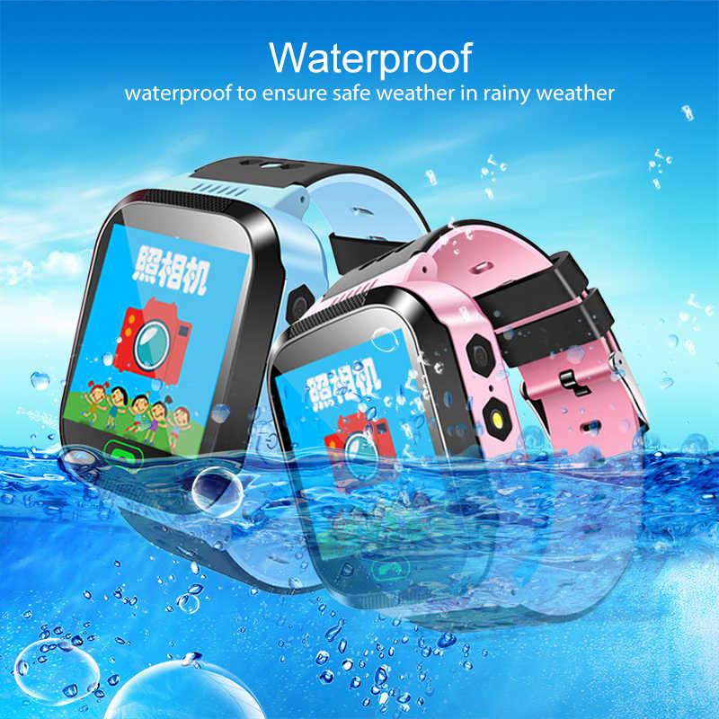 Tahan Air Tracker Smart Watch SOS Sampai Bulan-Kehilangan Smartwatch Bayi 2G SIM Kartu JAM Ponsel Lokasi Tracker Smartwatch PK Q50 Q90