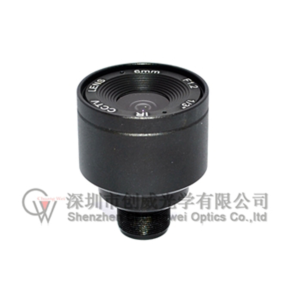 1/3 F1.6 CCTV Fixed Iris IR Infrared 6mm lens M12 Mount Lens For Security CCTV Camera 8mm 12mm 16mm cctv ir cs metal lens for cctv video cameras support cs mount 1 3 format f1 2 fixed iris manual focus