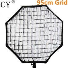 Lightupfoto Фото Видео Студия фотографических нейлон Honeycomb сетки для Аксессуары для фотостудий Octagon Зонт Софтбоксы 95 см psu95a