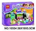 Belal 10554 Chicas Amigos Building Blocks Figura de Acción Juguete Ladrillos Compatible con Lepin