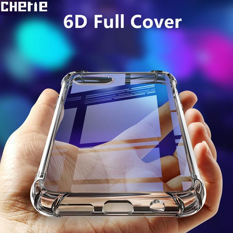 Прозрачный ударопрочный чехол для OnePlus 7 7T Pro, Мягкий Силиконовый ТПУ чехол для OnePlus 7 Pro 6T 5 5T 8, чехол One Plus 7 Pro 8
