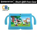 "7"" Tablet PC Android 4.42 Google A33 Quad Core 1GB+8GB WiFi Dual Camera 7 Inch Q8 Q88 Tablets PC Free Gift  Baby Style Case"