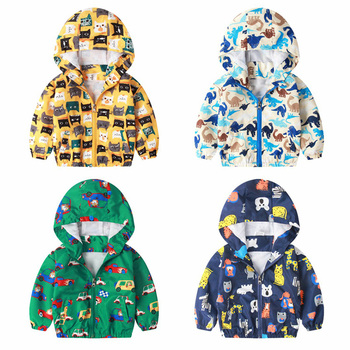 2020 Spring summer Multicolor children jackets 1-7Y thin style baby child outerwear coats for boys & girls casual kids clothing