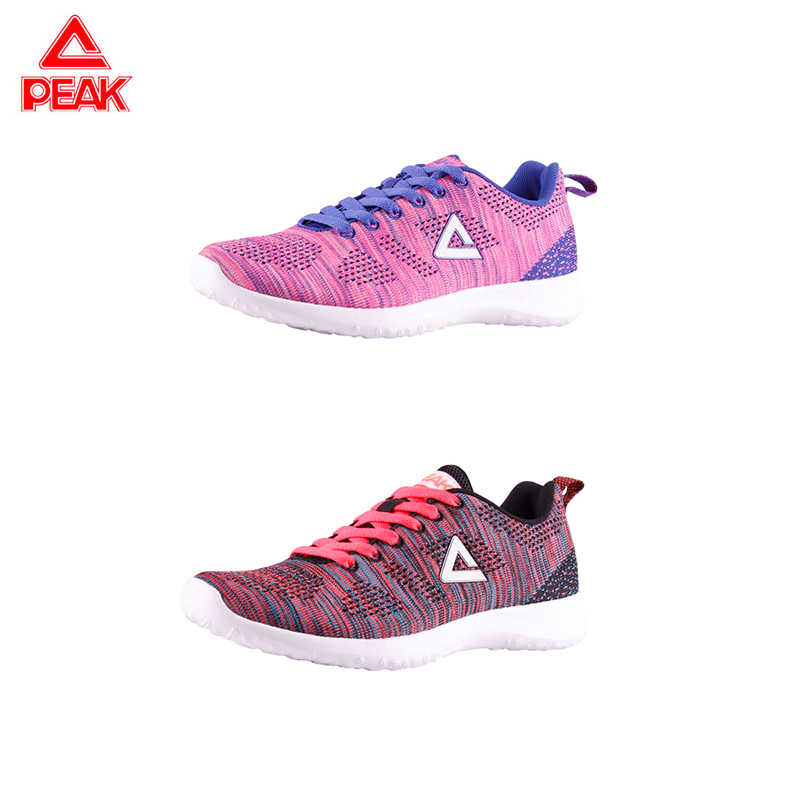 שיא ריצה ספורט סופר אור משקל מזדמן לנשימה נעלי נשים ספורט נעלי רך בלעדי ריצה EW7232E