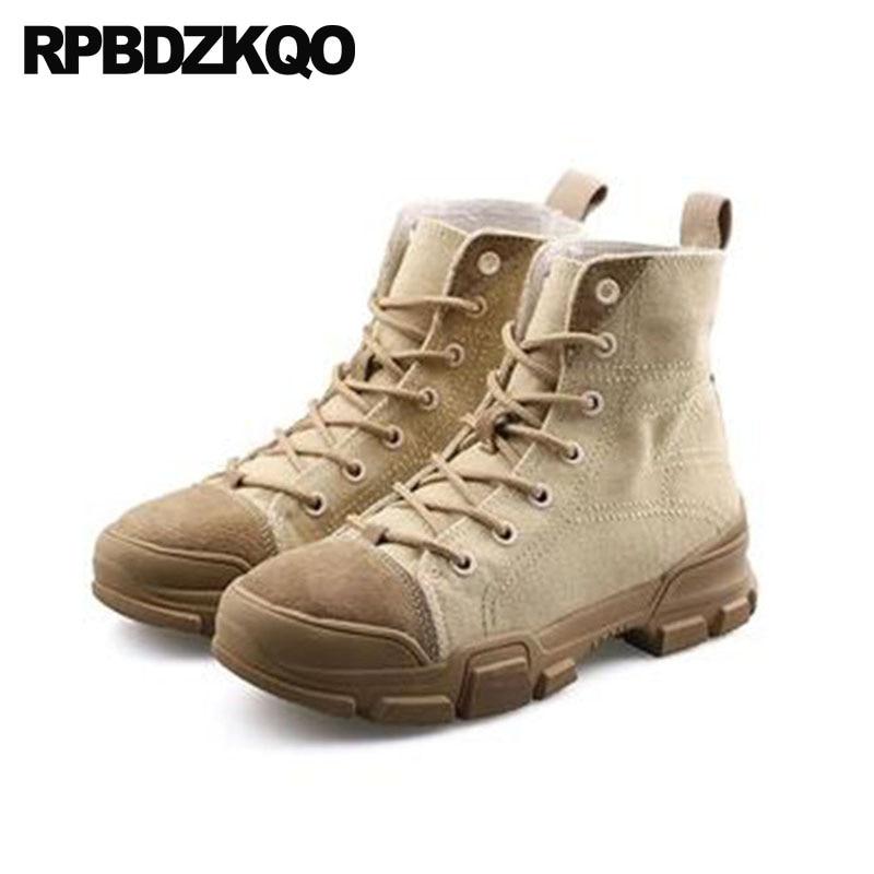 ca1bea9bba Tela Militare Tacco Medio Mercato Combattimento il Da Nero Stivali ...