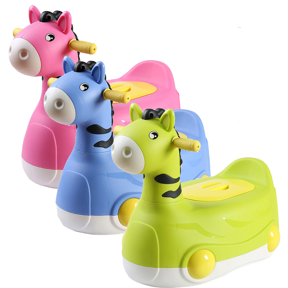 Cartoon Pony Potty Child Pot Training Girls Boy Potty Kids Chair Toilet Seat Children Pot