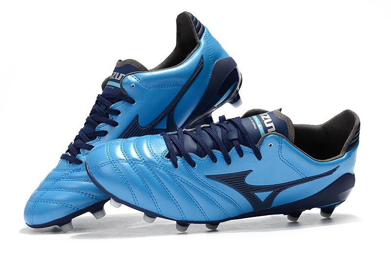 new product 07818 ed6ae Mizuno Morelia Neo Mix Mizuno Wave Ignitus 4MD Basara FG Soccer Spikes Men  Running shoes Blue, White, Black Weightlifting Shoes