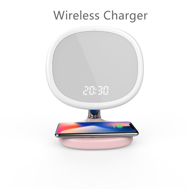 HAMRVLmodern table lamp wireless charging   dressing mirror with Touch Induction Lamp 5V Modern USB Output Charger