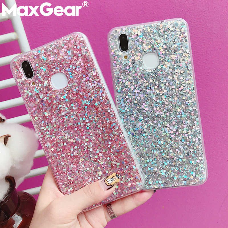Bling Glitter Crystal Sequins Phone Case for Huawei P Smart P20 Mate 20 10 Pro P10 P8 P9 Lite 2017 Nova 2S 2i 3i Honor 9 10 Case