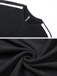Image 5 - Pioneer Camp มาใหม่เสื้อแฟชั่นเสื้อผ้าแบรนด์ผู้ชายสีดำลาย hoodie sweatshirt ชายหลวมผ้าฝ้าย AWY901037