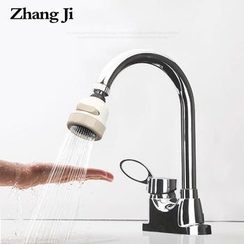 ZhangJi filtr do kranu oszczędzanie wody 3 tryby kran Aerator obrotowy elastyczny filtr wysokociśnieniowy dysza opryskiwacza montaż M22 M24 tanie i dobre opinie Zhang Ji Aeratorów SDWXJSQ Z tworzywa sztucznego