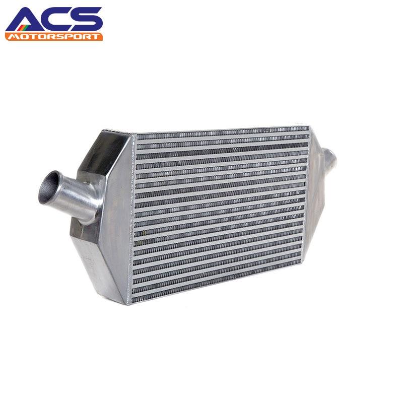 ACS-Core Size 20x13x4.6 Inch Universal Bar And Plate Aluminum Air To Air Intercooler epman 76mm universal lightweight aluminum fin turbo type intercooler core size 600x280x76mm ep int0017 100