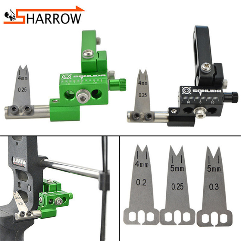 1pc Aluminum Alloy Arrow Rest 0 2 0 25 Compound Bow Shooting Right Hand Steel Plate Arrows Rest For Outdoor Hunting Accessories in Darts from Sports Entertainment