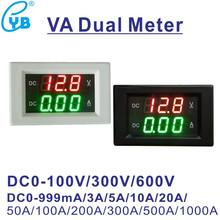 YB4835VA – voltmètre numérique, ampèremètre, compteur de tension, affichage, VA, double mètre, ampèremètre, 3a, 10a, 20a, 50a, 100V, 300V, 600V