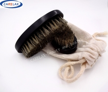 1PC New Black Shaving Brush Beard Brush For Men Wooden Face Brush With Boar Bristles Beard Face Massage Black Shaving Brush
