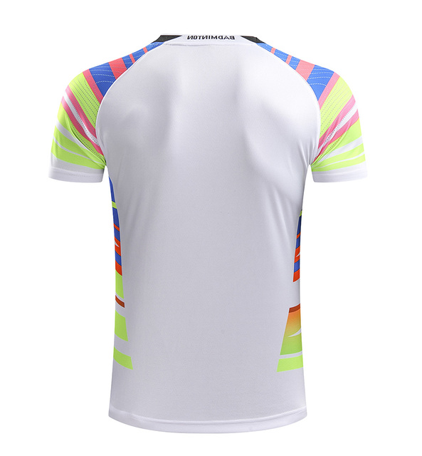 Free Printing Name CHINA Badminton shirt Men/Women , Badminton tshirt , sports tennis shirt 215AB 1