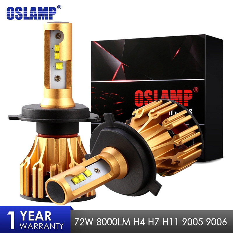 Oslamp LED Headlight Bulbs H4 H7 H11 9005 9006 SMD Chips 70W 7000LM 6500K Car Led Auto Headlamp Headlights Fog Light 12v 24v