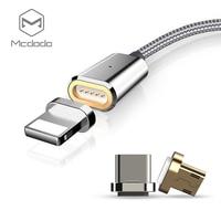 Mcdodo 3 ב 1 כבל מגנטי עבור iPhone 7 בתוספת טעינה מהירה עבור iPhone 8 6 s סוג c כבל USB כבל מיקרו USB לסמסונג Xiaomi