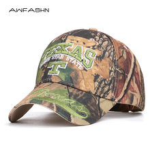 e76cb2d6f387f 2019 New TEXAS Embroidery Unisex Camouflage Baseball cap Adjustable Casual  Snapback HAT Spring Summer Outdoor Browning